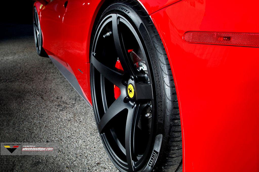 Ferrari 458 Italia | 458 on Vorsteiner wheels