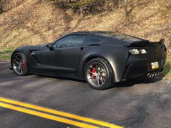 2018 Chevrolet Corvette Z06 | Steve Dalbec's C7 Corvette Z06 on Forgeline One Piece Forged Monoblock VX1 Wheels