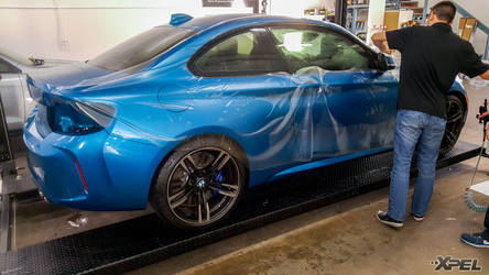 2016 BMW M2   XPEL Austin protected this entire BMW M2 with XPEL STEALTH satin-finish clear bra