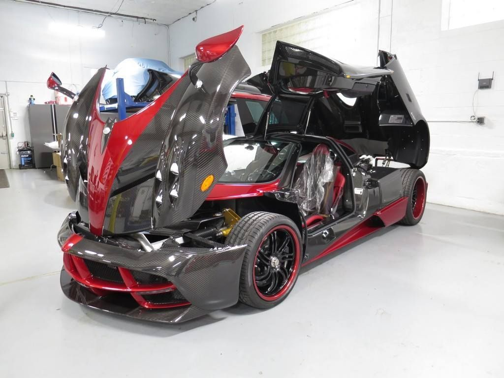 Pagani Huayra | Pagani Huayra with XPEL ULTIMATE self-healing clear bra