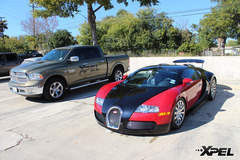 Bugatti Veyron protected with XPEL ULTIMATE