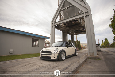 2010 MINI Cooper S | '10 Mini Cooper S on Klutch SL-1's