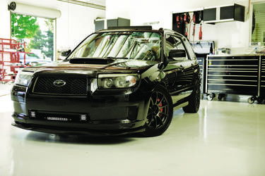 A Very Clean and Sexy Subaru Forester with a front end full of Rigids!