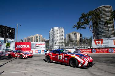 2019 Panoz  | Panoz Double Podium at Grand Prix Long Beach