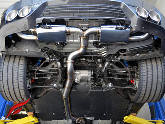 FI R35 GT-R Exhaust System