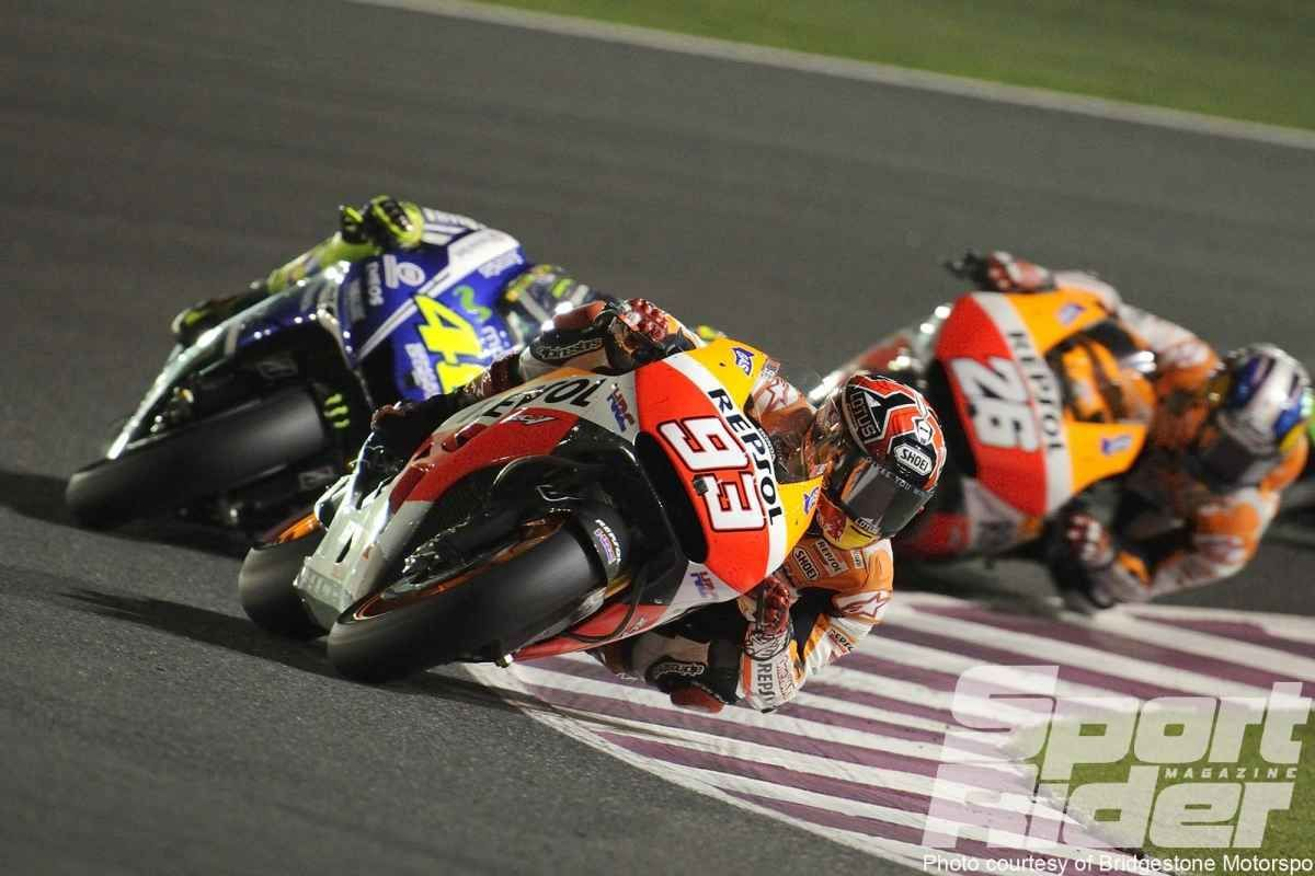 2014     Marquez starts '14 strong with a win in Qatar