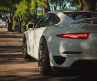 Advance Performance Porsche 991 911 Turbo S on Forgeline One Piece Forged Monoblock VX1R Wheels