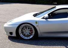 Ferrari 360 Modena on Forgeline DE3C-SL Wheels
