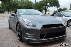 Nissan GTR  with XPEL STEALTH matte-finish paint protection film