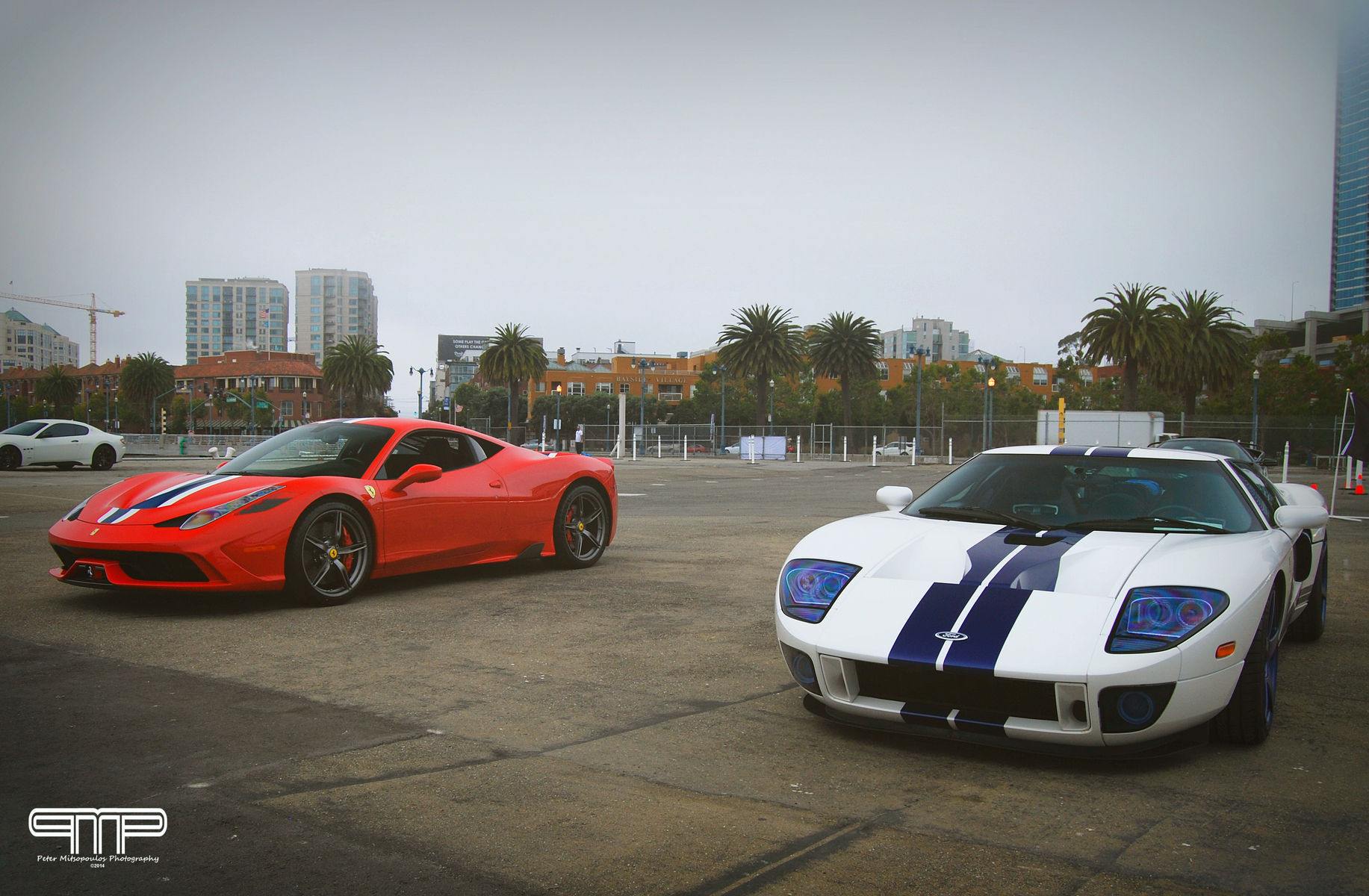| Ford GT and Ferrari 458 Speciale
