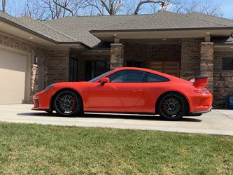 2018 Porsche 911 | Alan Coleman's Lava Orange Porsche 991 GT3 on Forgeline One Piece Forged Monoblock ZH1 Wheels