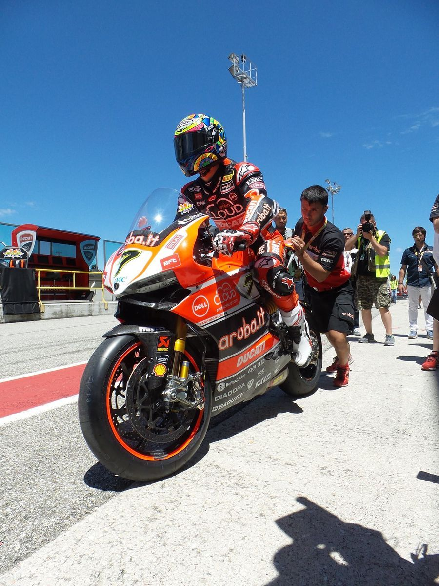 2015 Ducati Panigale R | Chaz Davies