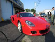 Porsche Carrera GT with XPEL ULTIMATE self-healing clear bra