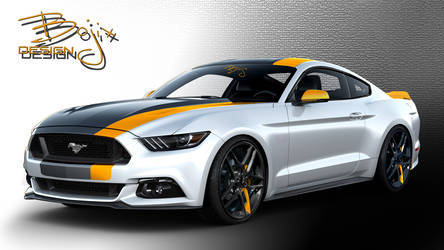 2015 Ford Mustang   2015 Bojix Ford Mustang - Rendering