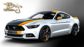 2015 Bojix Ford Mustang - Rendering