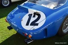 """Ferrari 250 GT SWB Prototype Speciale """"Sperimentale"""" Rear"""