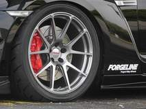 Doug Washburn's Nissan GT-R on Forgeline GA1R Deep Cap Wheels in Midnight Silver
