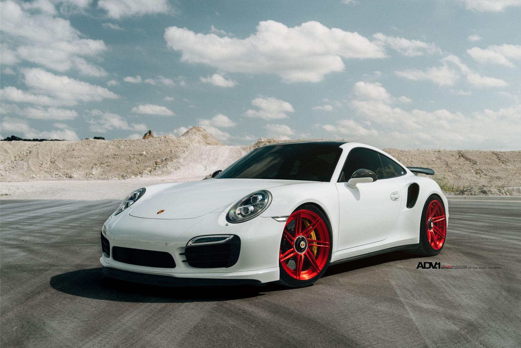 2015 Porsche 911 | ADV.1 Wheels Porsche 991 Turbo S