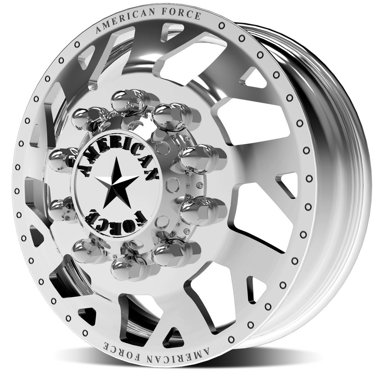 | Dually Wheel - Man O' War - Front