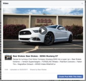 Video: Rick Elam's Supercharged S550 Mustang GT on Baer Brakes and Forgeline One Piece Forged Monoblock RB1 Wheels