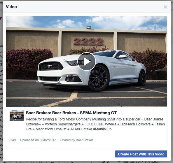 2015 Ford Mustang | Video: Rick Elam's Supercharged S550 Mustang GT on Baer Brakes and Forgeline One Piece Forged Monoblock RB1 Wheels