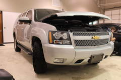 Chevy Installations with XPEL ULTIMATE paint protection film