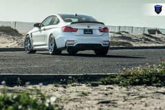 BMW M4 - White Rear