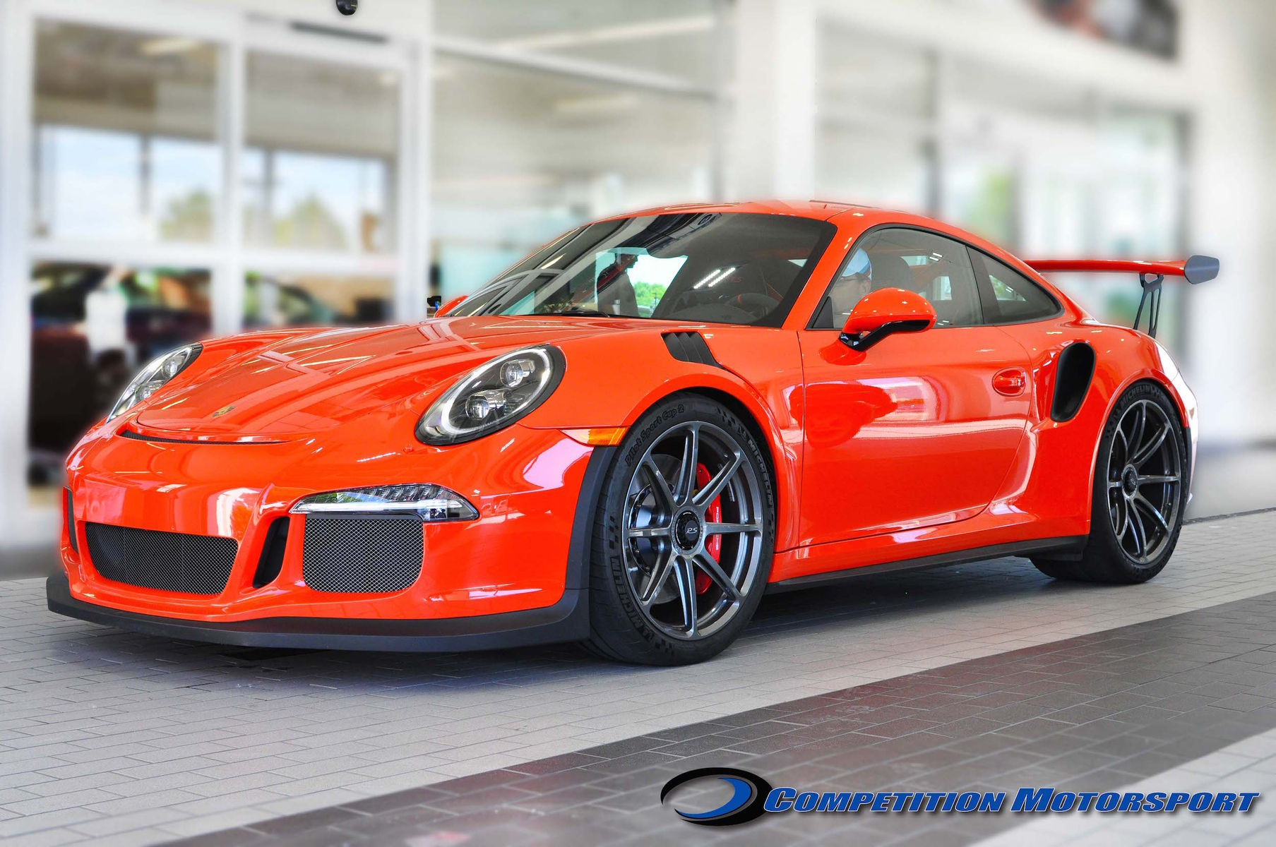 2016 Porsche 911 | Brian Ringwelski's Porsche 991 GT3RS on Forgeline One Piece Forged Monoblock GE1 Wheels