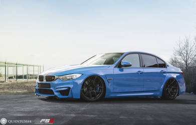 BMW M3 . Quantum44 FS5 Forged Wheels