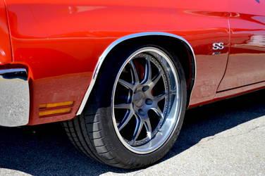 1970 Chevrolet Chevelle | Dick Glass' 1970 Chevrolet Chevelle on Forgeline GA3 Wheels