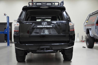 2014 Toyota 4Runner | N-FAB TRD PRO Build - Toyota 4-Runner Rear Shot