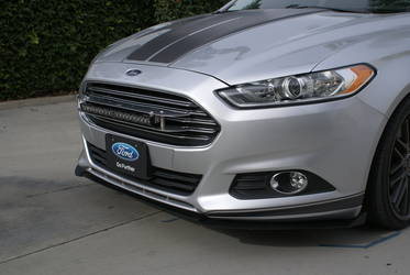 2013-2016 Ford Fusion 3-Piece Front Splitter