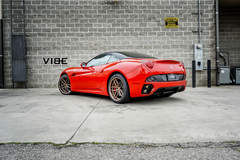 "Ferrari California on 20"" Ferrada F8 FR5 Wheels - V8 Beast"