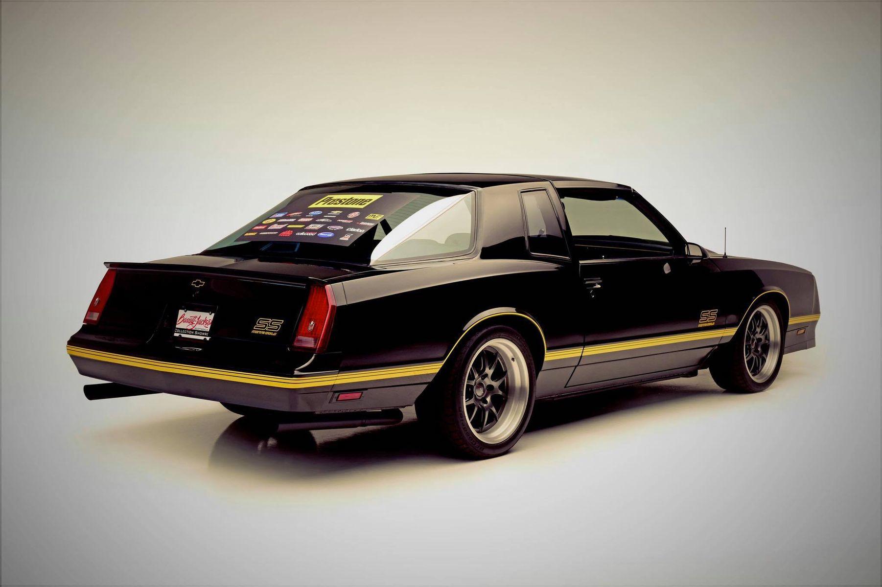 1987 Chevrolet Monte Carlo | SOLD for $100,000: Barrett-Jackson's
