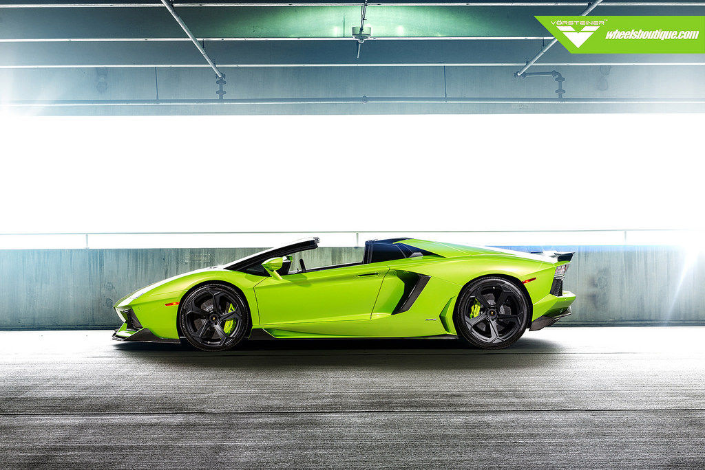 Lamborghini Aventador   Vorsteiner Aventador-V Hulk