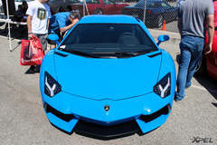 Lamborghini Aventador at the California Festival of Speed