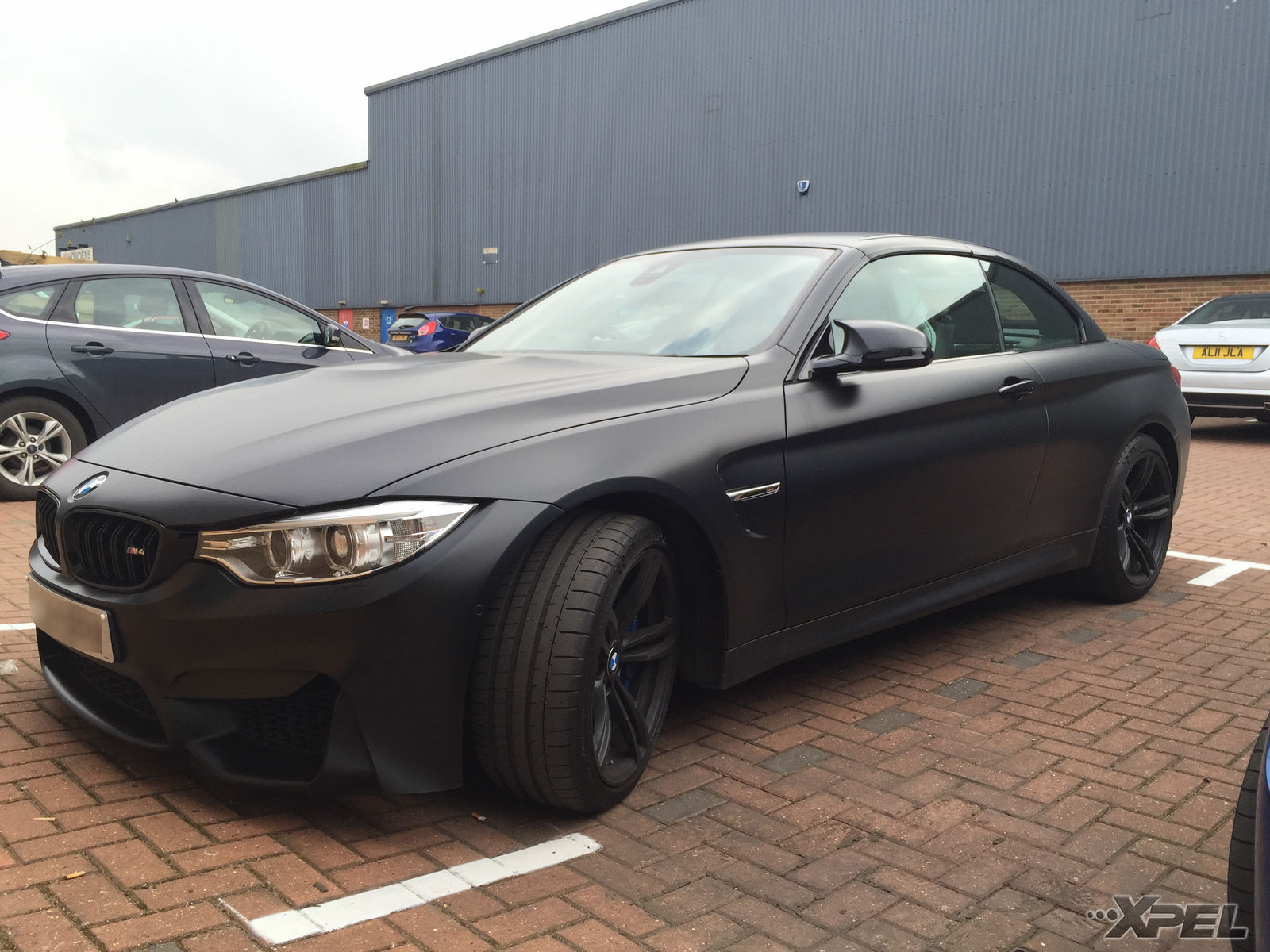 | BMW M4 protected with XPEL STEALTH