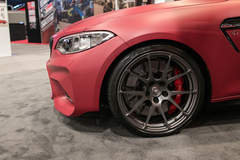 Dinan Engineering's Stage 2 BMW F87 M2 on Forgeline One Piece Forged Monoblock GA1R Wheels