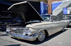 George Poteet's Roadster Shop-Built 1961 Impala on Forgeline RS-OE1 Wheels