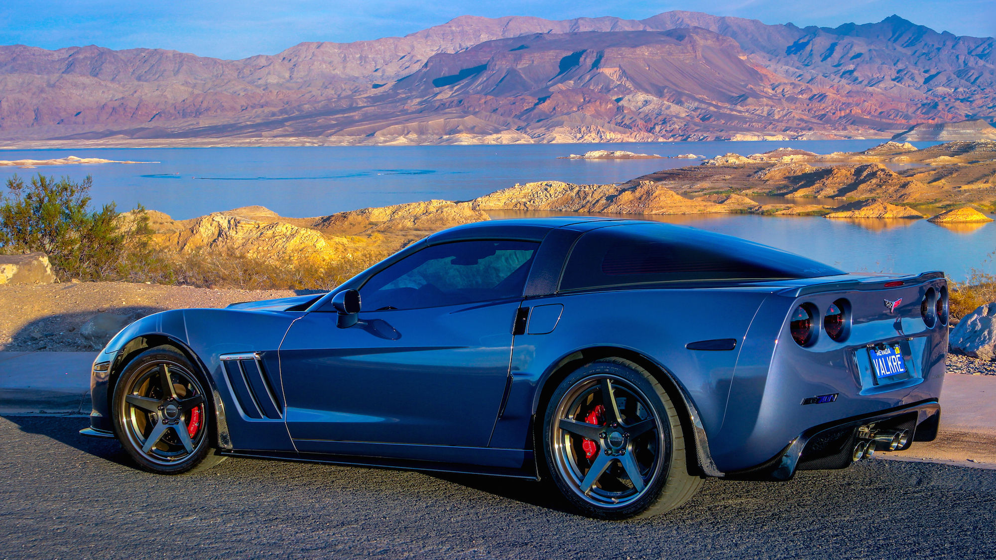 2013 Chevrolet Corvette | C6 Corvette on Forgeline CF3C-SL Wheels