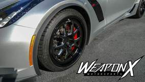 David C's C7 Corvette Z06 on Forgeline GA3 Wheels