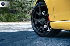 Yellow Porsche Boxster - Wheel