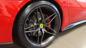 Ferrari Berlinetta F12 on Forgeline One Piece Forged Monoblock EX1 Wheels