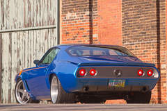 "Bob Bertelsen's ""Brute Force"" 1971 Camaro on Center Locking Forgeline CF3C Wheels Going to Auction"