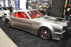 """Timeless Kustoms' """"Vicious"""" 1965 Ford Mustang on Forgeline GT3C Wheels Featured by Jay Leno's Garage"""