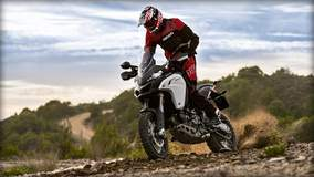 Multistrada 1200 Enduro - Kicking Sand
