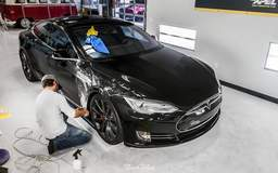 Tesla Model S Protected with XPEL ULTIMATE