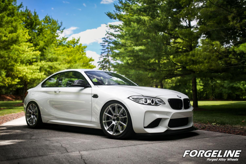 2016 BMW M2 | Taylor McGohan's BMW M2 on Forgeline One Piece Forged Monoblock GTD1 5-Lug Wheels