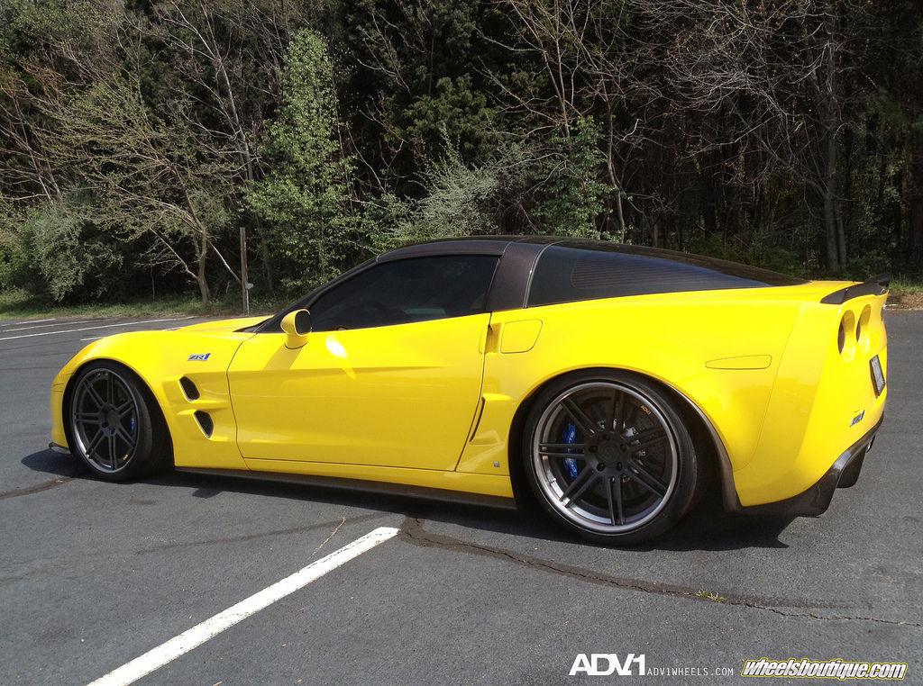 Chevrolet Corvette | Corvette C6 Z06 on ADV07 Track Spec