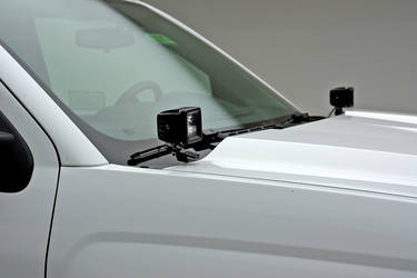 2016 Chevy Silverado 1500 Hood Hinges LED Light Pod Mounting Kit